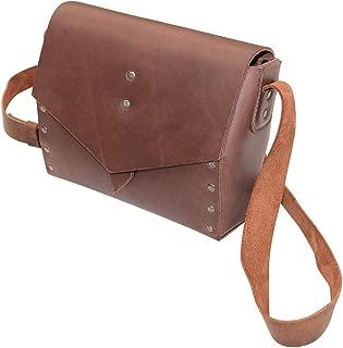 Leather Diamond Shoulder Bag/Purse/Travel/Case/Accessories/Stylish, Handmade Includes 101 Year Warranty :: Bourbon Brown