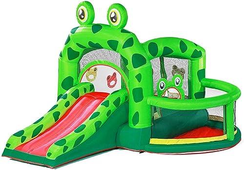 Toboggans Jouets pour Enfants Chateau Gonflable pour Enfants pour Enfants Trampoline Extérieur équipeHommest De ConditionneHommest Physique Terrain De Sport Vert pour Enfants