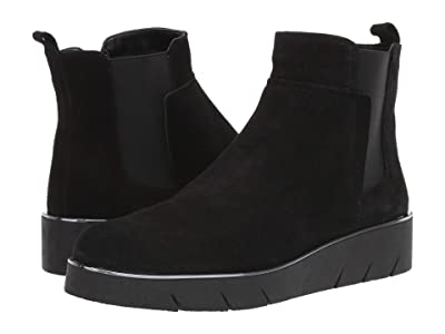 The FLEXX Camden (Black Waterproof Suede) Women