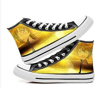 XYUANG Detective Conan/Case Closed Anime Pantofole Scarpe di Tela Sneakers Stringate Sneakers Unisex Adulto