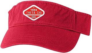 Theta Chi Woven Emblem Heavy Visor
