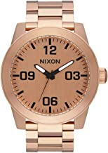 Nixon Corporal SS Rugged Men's Watch (48mm. Stainless Steel Band)