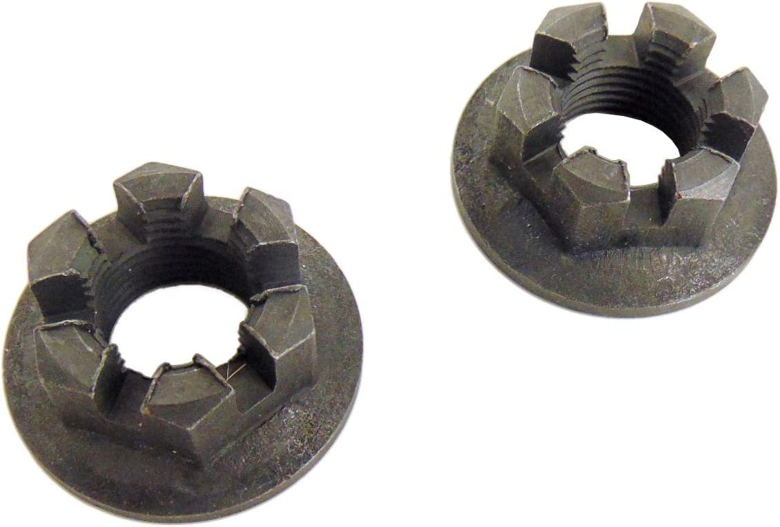 2 Rear Axle Great interest Hub Castle Crown Nut 14mm Max 81% OFF 1.50 x Compatible with Yam