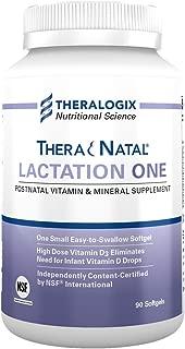 TheraNatal Lactation One Postnatal Vitamins - Lactation Supplements | Save Up To 50% Off Thru 10/31/19