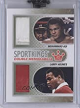 Muhammad Ali; Larry Holmes (Trading Card) 2010 Sportkings Series D - Double Memorabilia - Silver #DM-05