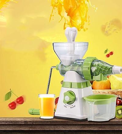 Multi-Function Juicer, Ice Cream Machine, Manual Blender, Lemon Juicer, Suitable for Orange Watermelon Apple Grape Vegetables