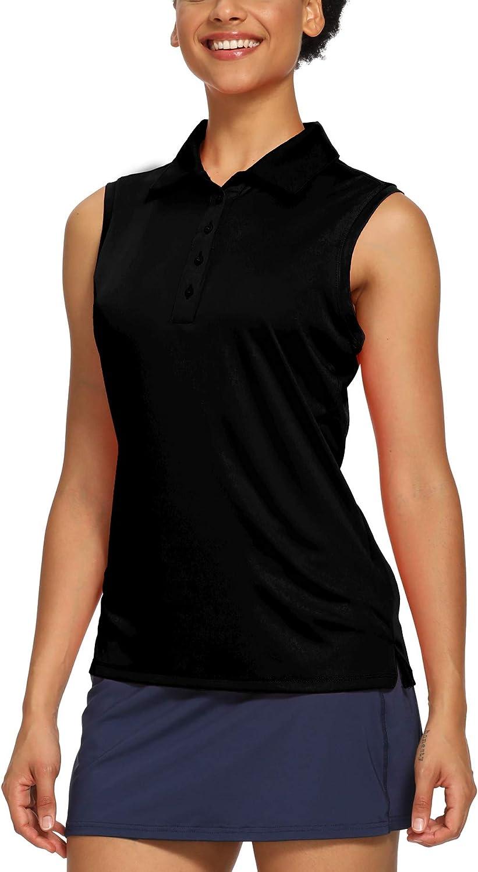 CQC San Antonio Mall Women's Golf Tennis Sleeveless Shirts Polo New Shipping Free Quick Athleti Dry