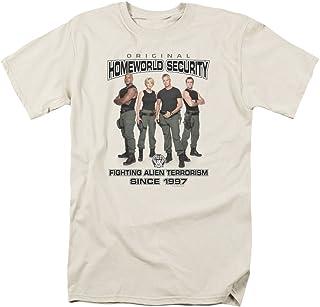 Stargate Hombres de Homeworld seguridad camiseta marfil
