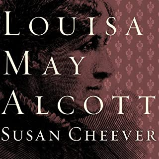 Louisa May Alcott audiobook cover art