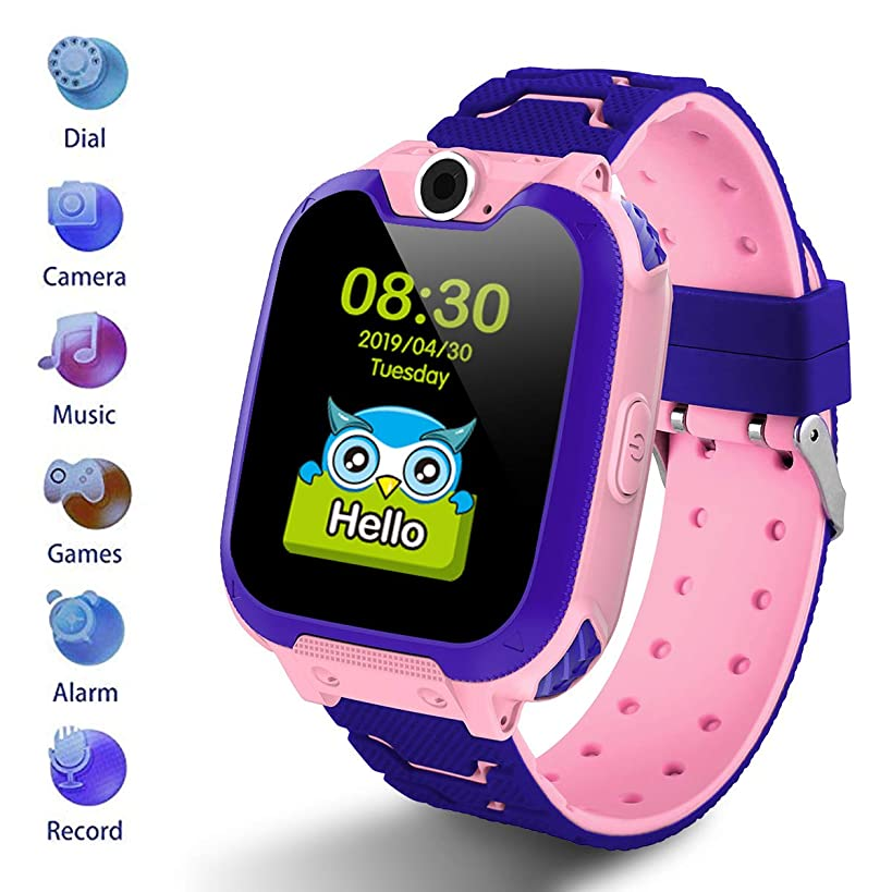 Kids Smartwatch [SD Card Included],1.54 inch Colorful Touch Screen Smartwatch for Children with Quick Dial, Camera and Music Player,Calculator and Alarm for Boys and Girls(NOT Support AT&T)