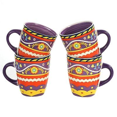 Warebest 12oz Porcelain Mug Set