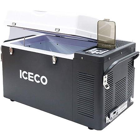 ICECO 44 Quart Portable Refrigerator Freezer Fridge, Compact Refrigerator with SECOP Compressor, 12 Volt freezer Refrigerator, AC 110-240V, DC 12/24V, 0℉ to 50℉, Home & Car Use (VL42 SINGLE ZONE)