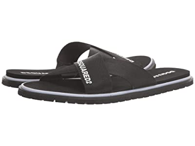 DSQUARED2 Carioca Flip-Flop (Black) Men