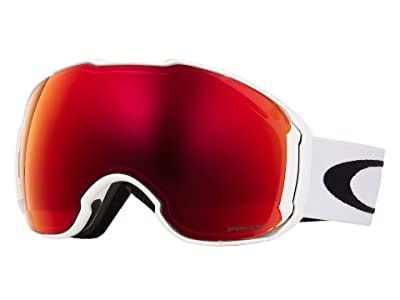 Oakley Airbrake XL Large (Polished White/Prizm Torch/Prizm Rose) Goggles