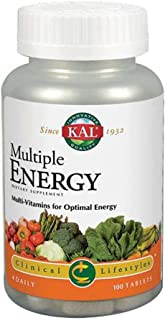 Kal Multiple Energy Tablets, 100 Count