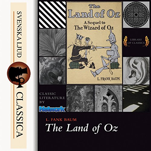 The Marvelous Land of Oz cover art