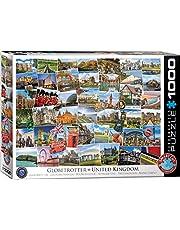 EuroGraphics 6000-5464 Puzzel Globetrotter Groot-Brittannië