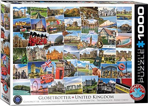 EuroGraphics United Kingdom Globetrotter 1000-Piece Puzzle