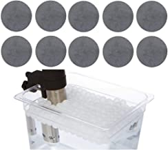 Sous Vide Magnets and Water Balls Alternative to clips and racks for Anova, ChefSteps Joule and other cookers fits any container holds bags underwater … (Magnets And Balls)