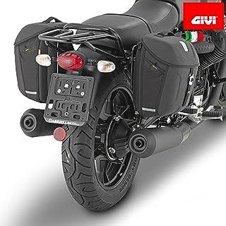 Borsa laterale 11L per Moto Guzzi V7 III Racer//Stone nero sinistra