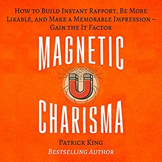 Magnetic Charisma audiobook cover art