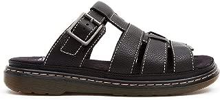 DR MARTENS Women`s Brigid Open Toe Leather Sandal Black US 8 EU 39 UK 6