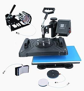 Equipment 5-in-1 Combination Heat Transfer Machine Multi-Function Heat Transfer Machine T-Shirt Heat Transfer Machine Clot...