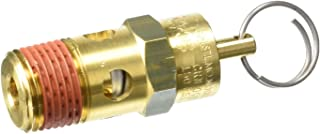 Control Devices SA25-1A275 Sa Series Brass Hard Seat Asme Safety Valve 275 Psi Set Pressure 1//4 Male Npt