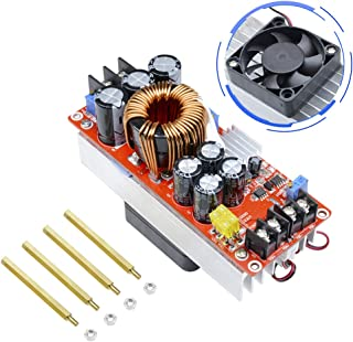 1500W 30A DC-DC Boost Converter, Aideepen 10-60V to 12-90V 30A Step Up Power Supply Module Constant Current LED Driver Voltage Converter Power Converter