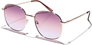 Quay Women's Jezabell Sunglasses, Rose Gold/Purple, One Size