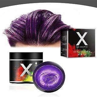 Tymczasowa farba do włosów, wosk do samodzielnego stylizacji włosów, naturalny wosk do włosów, nadaje się do prania, tymcz...
