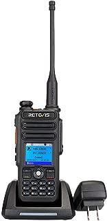 Retevis RT82 DMR Radio GPS Dual Band Waterproof IP67 Digital 2 Way Radio Group Call Record SMS Alarm 3000 Ch 10000 Contacts Ham Amateur Radio (1 Pack)