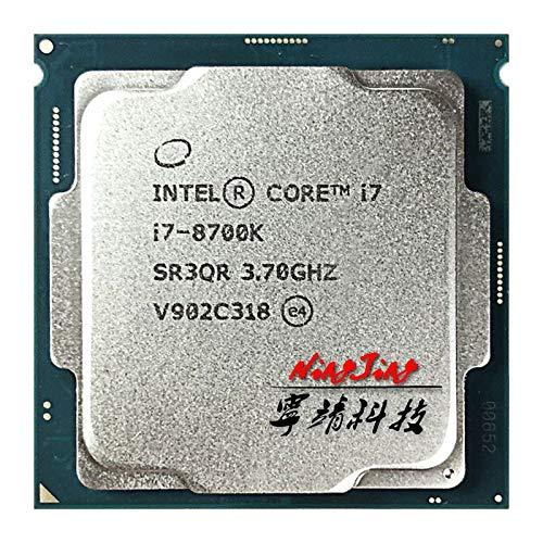 i7-8700K i7 8700K 3.7 GHz Six-Core Twelve-Thread CPU Processor 12M 95W LGA 1151