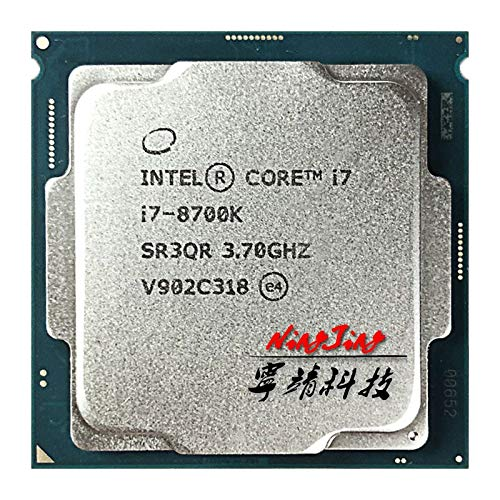 i7-8700K i7 8700K 3.7 GHz Six-Core Twelve-Thread CPU Processor 12M 95W LGA 1151