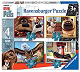 Ravensburger 7139 The Secret Life of Pets 4 in a Box Jigsaw Puzzles - 12, 16, 20, 24 Pieces