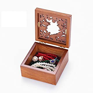 Jewellery Boxes Organisers Jewellery Box Jewelry Box Bracelet Necklace Storage Box Small Portable Jewelry Finishing Box Hollow Carved Jewelry Box Jewellery Boxes Organisers