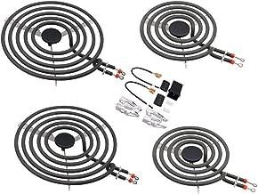 Electric Range Burner Element Unit Set-2 x MP21YA 8