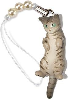 ペットラバーズ 猫どん LadyCat vol.7 サバトラ ビーズ ストラップ N-2707