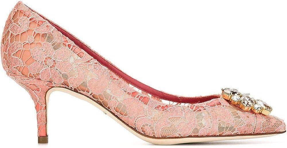 Luxury fashion dolce & gabbana,  decolleté, scarpe con il tacco a spillo per donna, in pelle e seta CD0066AL1988H200