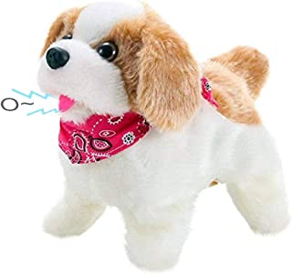Liberty Imports Cute Little Puppy – Flip Over Dog, Somersaults, Walks, Sits, Barks