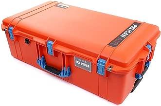 Pelican Orange & Blue 1615 case. Comes Empty Wheels.