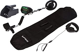 Treasure Cove TC-3020 Easy-to-Use LED Screen Display, Waterproof Coil, Headset Gold Silver Bronze Metal Detector Set