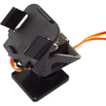 SG90 Servo SG90サーボ用ミニ2軸 オリジナル FPV 特殊なナイロン PTZ(NOサーボ) カメラマウント A838