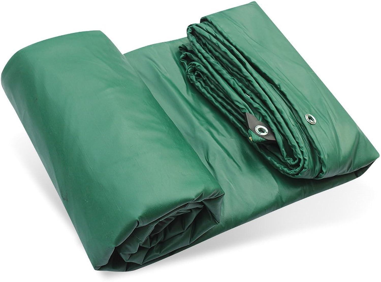 Tarps Tarpaulin PVC Waterproof Tarpaulin Ground Sheet Covers for Camping, Fishing, Gardening 500g m2 Thickness 0.43mm, MultiSize Optional (Size   4  8m)