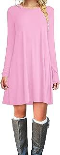 Best blush pink shirt dress Reviews