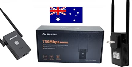 Comfast CF-WRF750AC AC750 Dual Band WiFi Range Extender. 750Mbps. Great for Streaming Movies and Music to Multiple Devices