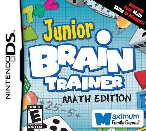 Junior Brain Trainer Math - Nintendo DS by Maximum Games