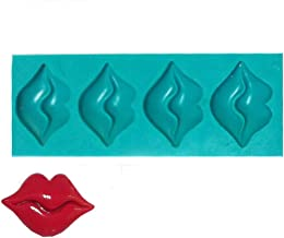 Yunko Red Lips 3d Mini Silicone Fondant Mold Chocolate Mold Cake Decorating Mold Gum Candy Mold Jelly Mold