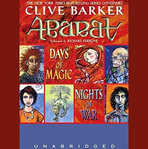 Days of Magic, Nights of War audiobook cover art