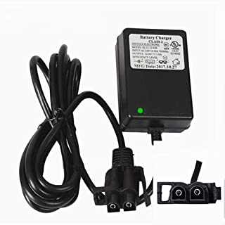 12V B-type Plug Kids Ride On Car Charger,for Kids Ride On Car Dumar Motion Trendz Megatredz Yamaha Raptor 700R ATV Toyota FJ Cruiser 12 Volt Battery Charger
